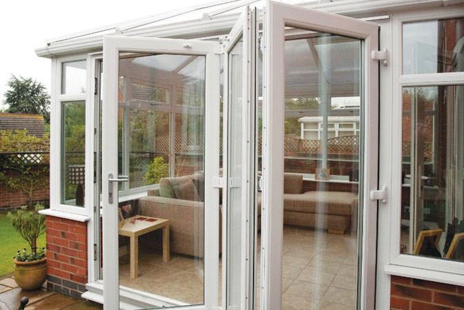 uPVC bi-fold doors Cornwall & uPVC Bi-Fold Doors Camborne | CWC | Free Online Quote